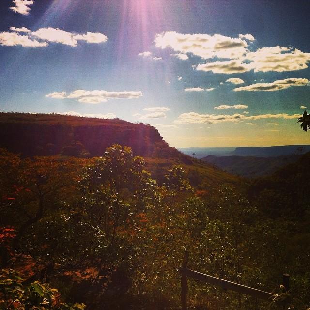Paredão e encontro de vales. Que mané Grand Canyon... Aqui era mar 150 milhões de anos atrás, me contaram