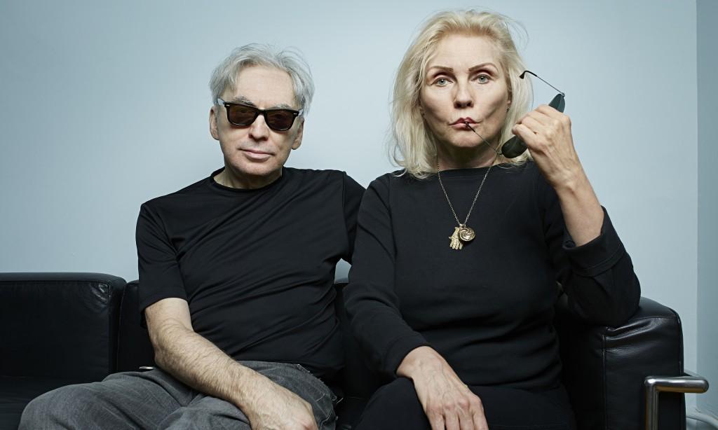 Chris Stein e Debbie Harry fotografados por Mike McGregor para o The Observer em New York - outubro de 2014