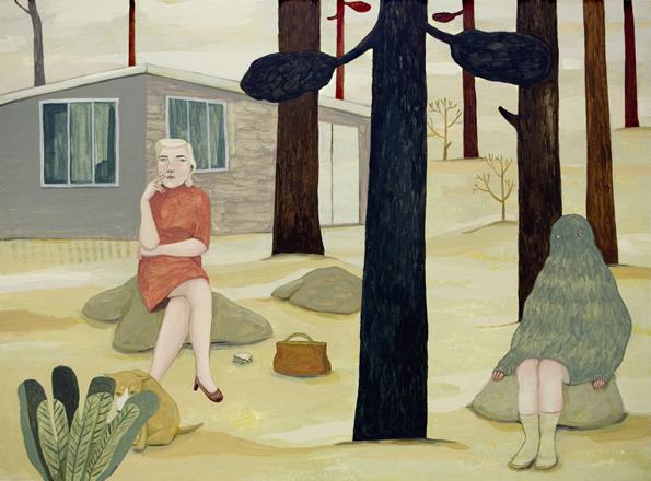 O mundo melancólico de Camilla Engman