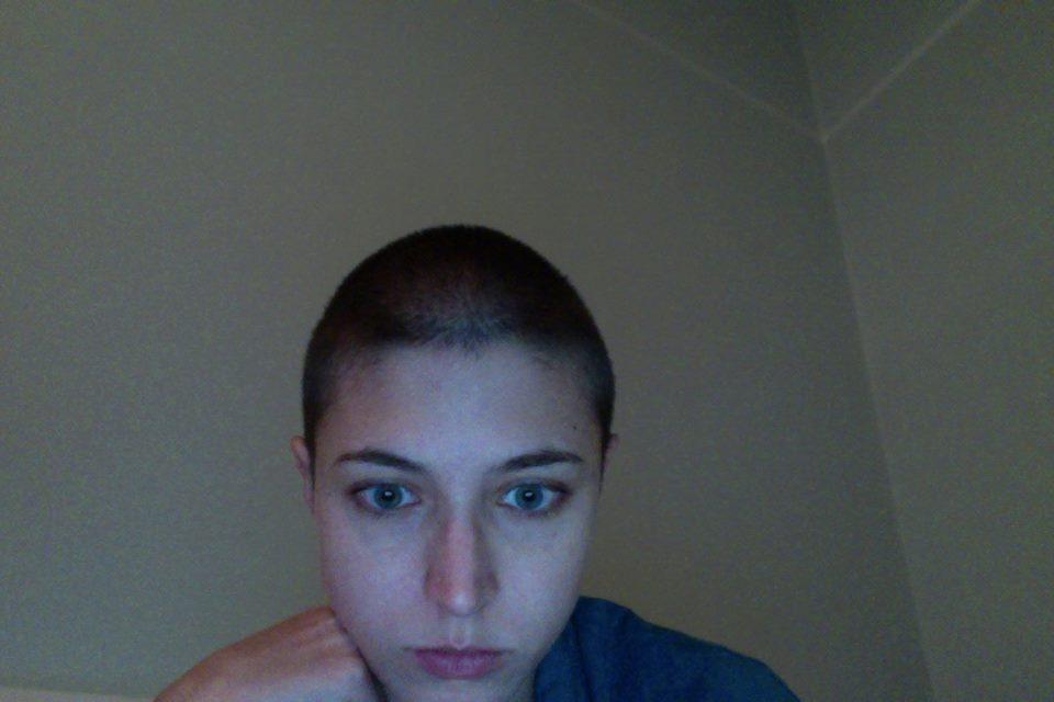 O dia em que raspei o meu cabelo