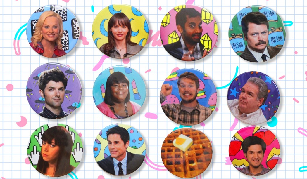 Parks & Recreation, arte por Bárbara Malagoli (Baby C) | Ovelha