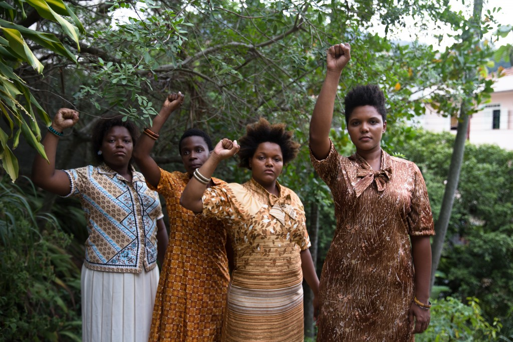 Kbela, o filme   Foto: Alile Dara Onawale. Atrizes: Dandara Raimundo, Isabel Martins Zua, Lívia Laso, Daí Ramos