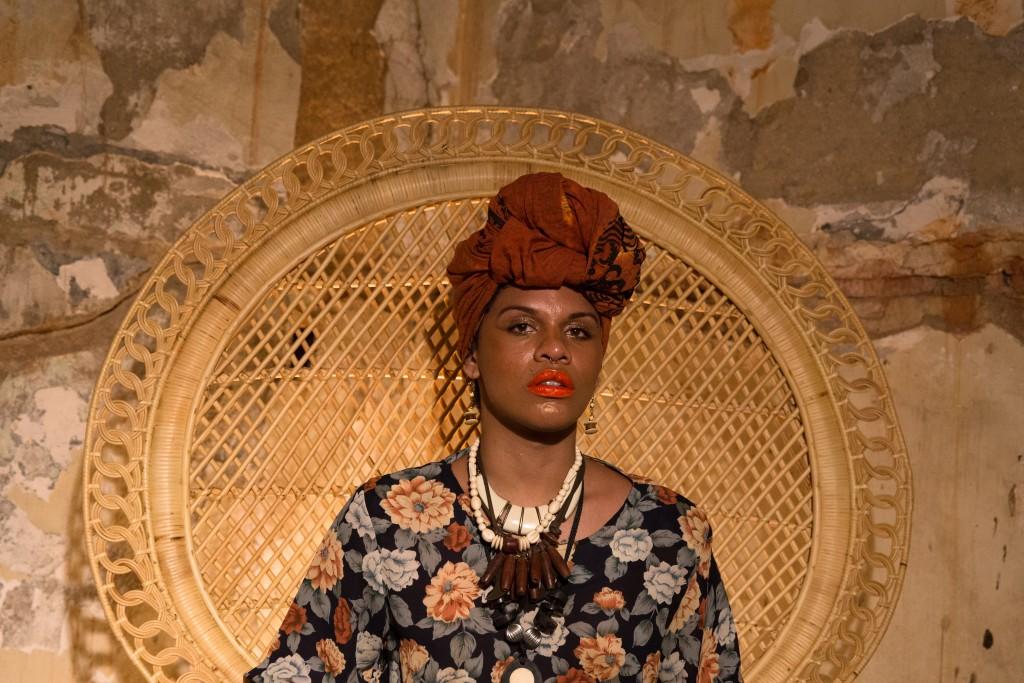 Kbela, o filme   Foto: Alile Dara Onawale. Atriz: Maria Clara Araújo
