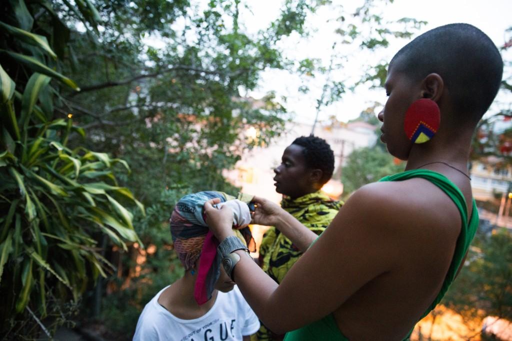Kbela, o filme | Foto: Alile Dara Onawale. Turbante: Sol.