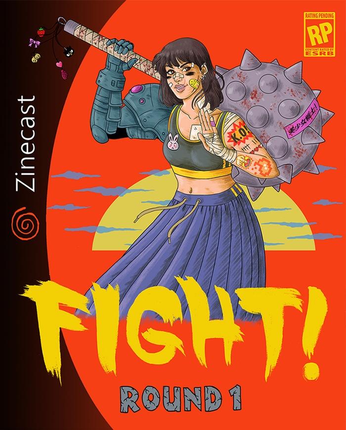 FIGHT! zine, projeto de Jenn Woodall | Ovelha