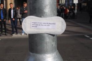 Maxi Pad Protest Art | Ovelha