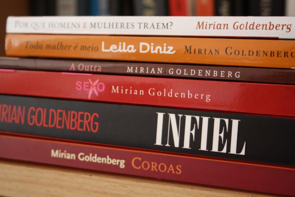 Os livros de Mirian Goldenberg