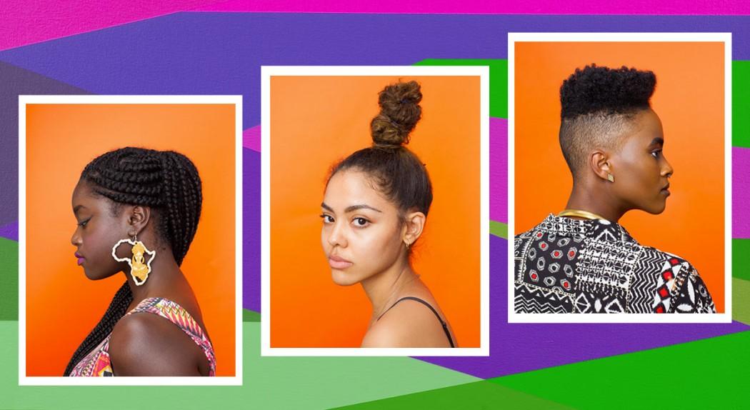 Cabelos do Afropunk. Fotos por Awol Erizku.