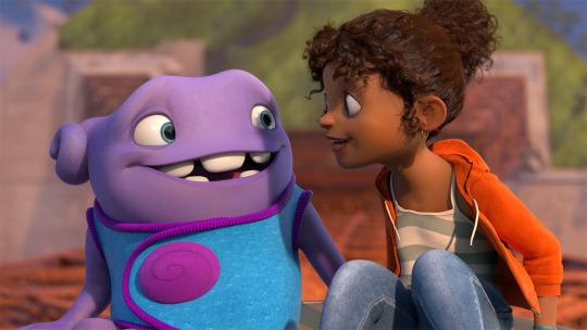 """Cena de """"Cada um na sua Casa"""", da DreamWorks"""