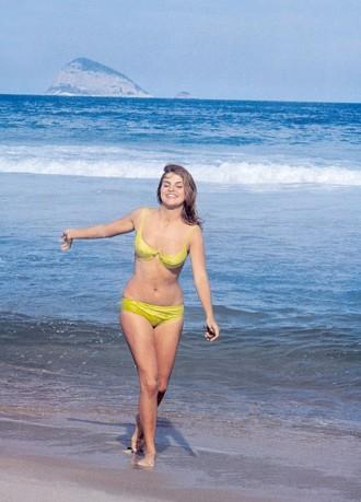 Leila Diniz no Rio de Janeiro em 1969