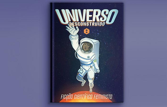 """Capa da versão impressa do livro """"Universo Desconstruído"""""""