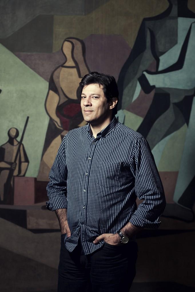 Julia Rodrigues já fotografou Fernando Haddad