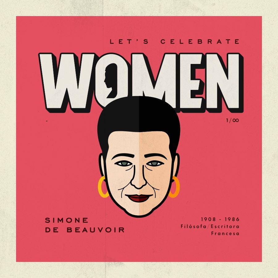 Let's Celebrate Women: Simone de Beauvoir