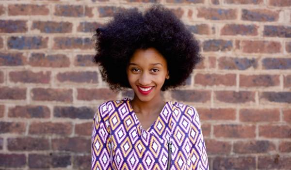 Neema Nouse, blogueira de Johannesburgo .