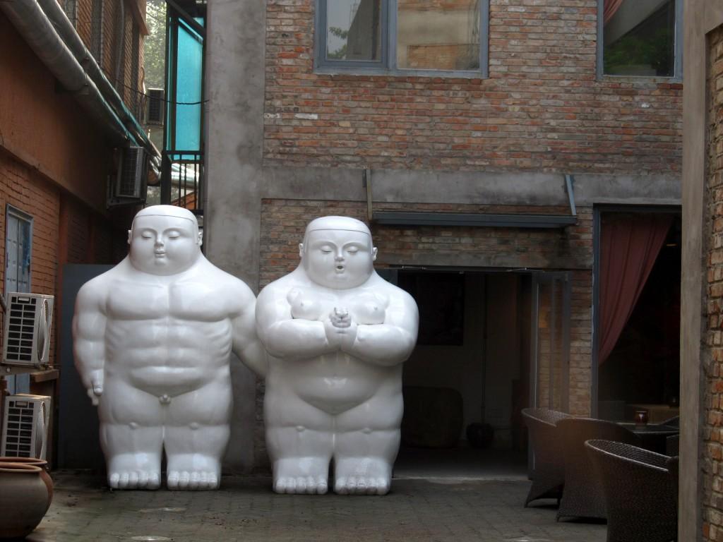 Uma antiga fábrica ocupada atualmente por obras de arte, galerias, lojas e restaurantes descolados.