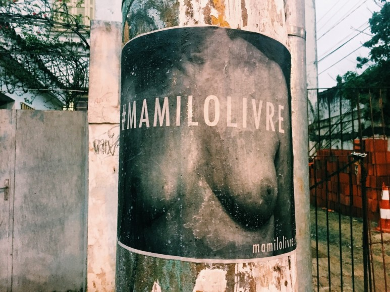 #MamiloLivre na Ferreira de Araújo