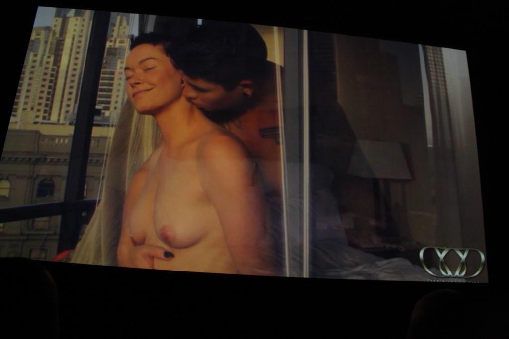 Cena de um dos filmes de Jiz Lee que foi mostrada na premiação