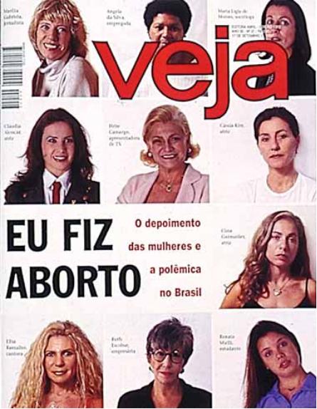 Capa da veja de 1997