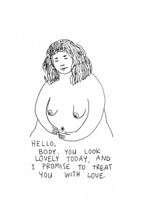 'Hello body', de Frances Cannon
