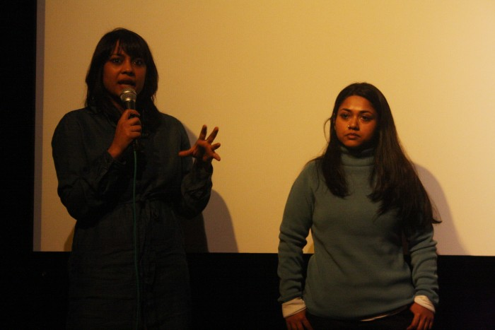 Atriz Shahana Goswami e diretora Rubaiyat Hossain falam sobre o filme na Semana de Cinema Feminista de Berlim