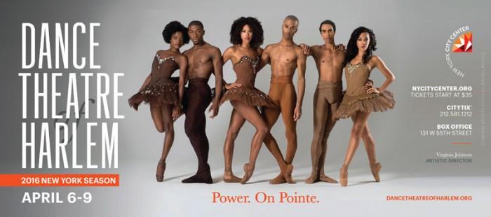 Os dançarinos da Dance Theatre of Harlem Company.