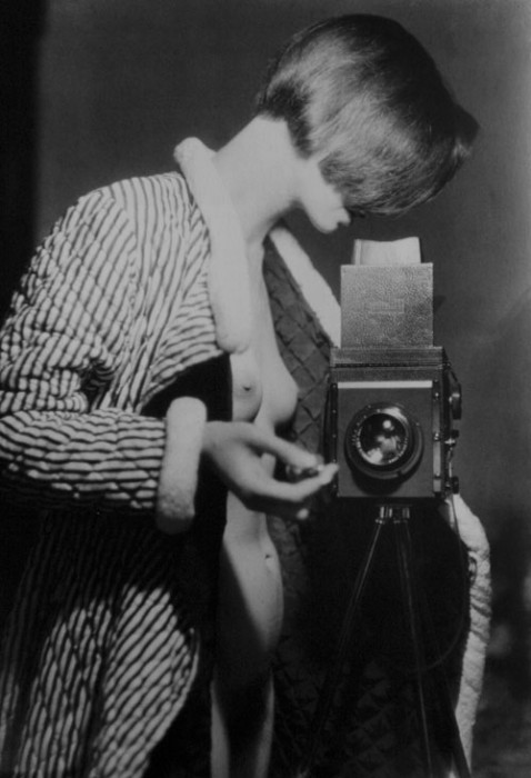 Self-portrait, Berlim, 1933 (Foto: Marianne Breslauer)
