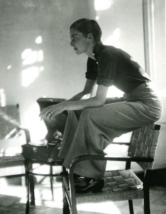 Lisa von Cramm, Berlin, 1934 (Foto: Marianne Breslauer)