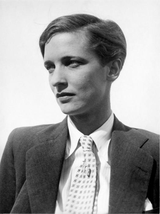 Annemarie Schwarzenbach, Zurique, 1934 (Foto: Marianne Breslauer)