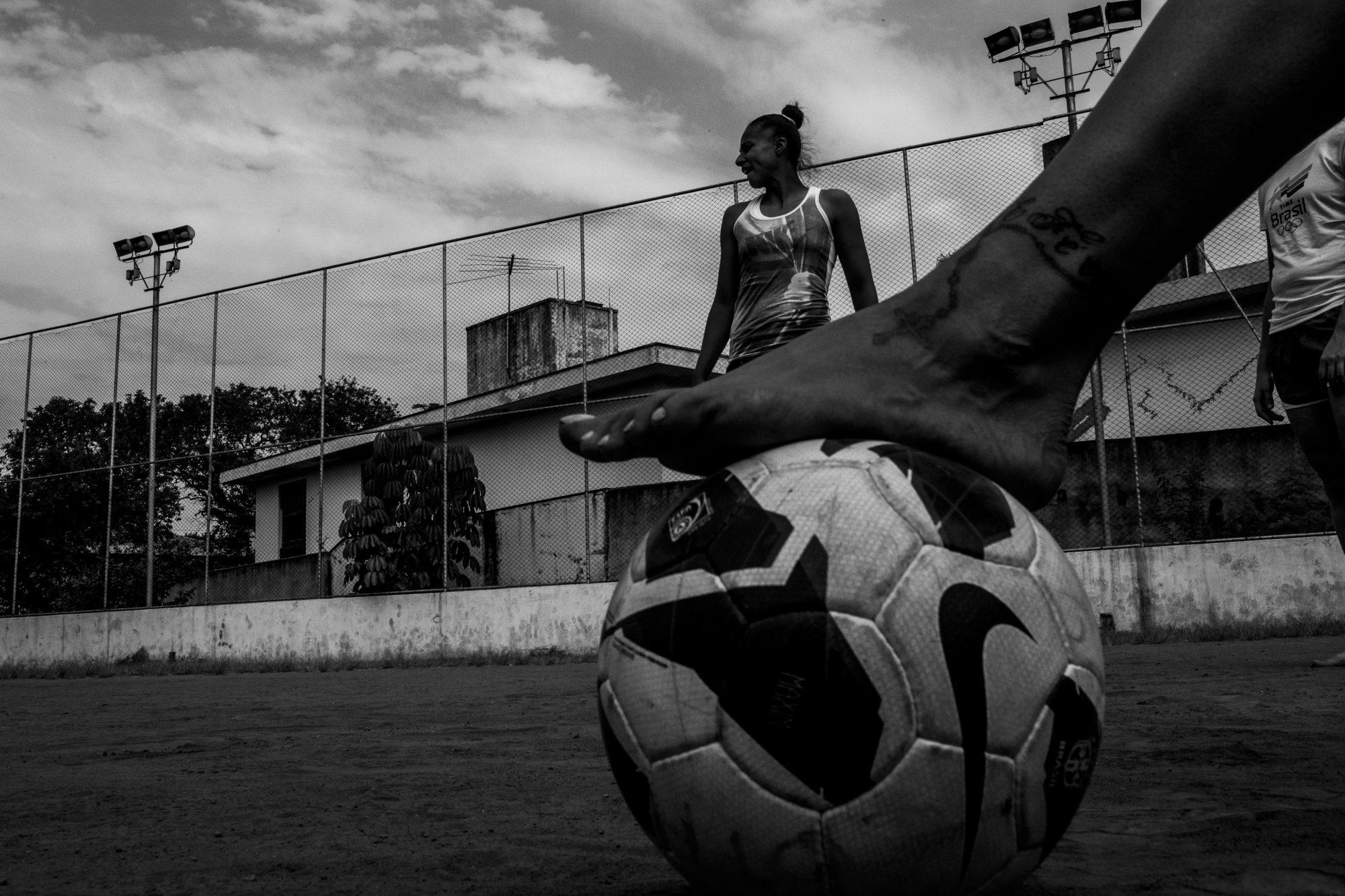 Projeto Guerreiras, 2014. Photo: Daniel Kfouri