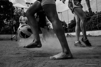 Projeto Guerreiras, 2014. Foto por Daniel Kfouri.
