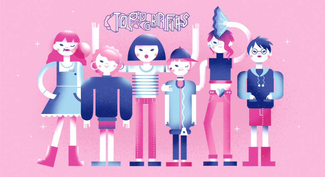 Ilustração feita com exclusividade por Bárbara Malagoli (Baby C), uma das autoras de Topografias e colaboradora Ovelha.