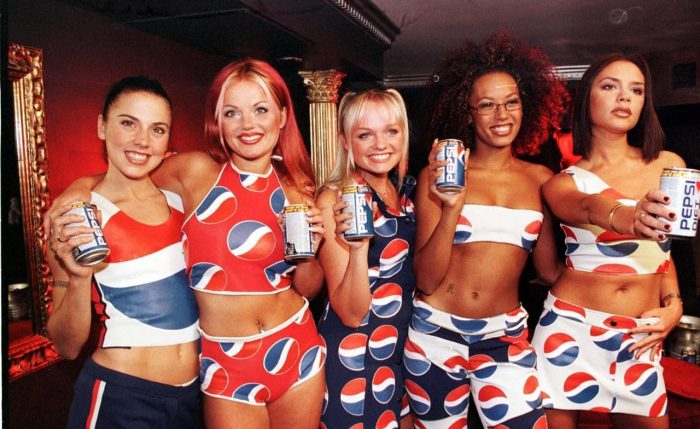 Spice Girls Pepsi Promotion. Pic Credit : WENN/NICK STERN