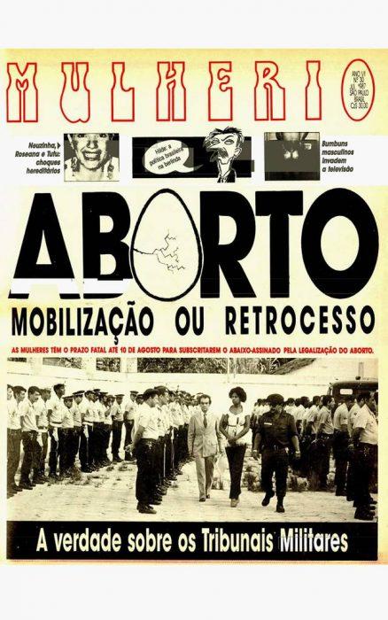 Capa da 30ª edição de 'Mulherio' - Foto: Reprodução