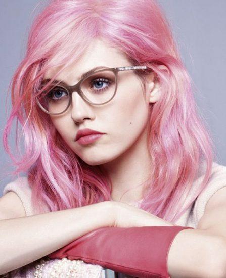 Charlotte Free, primeira modelo famosa pelo cabelo rosa