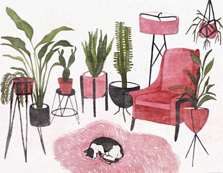 Ilustração de Anália Moraes